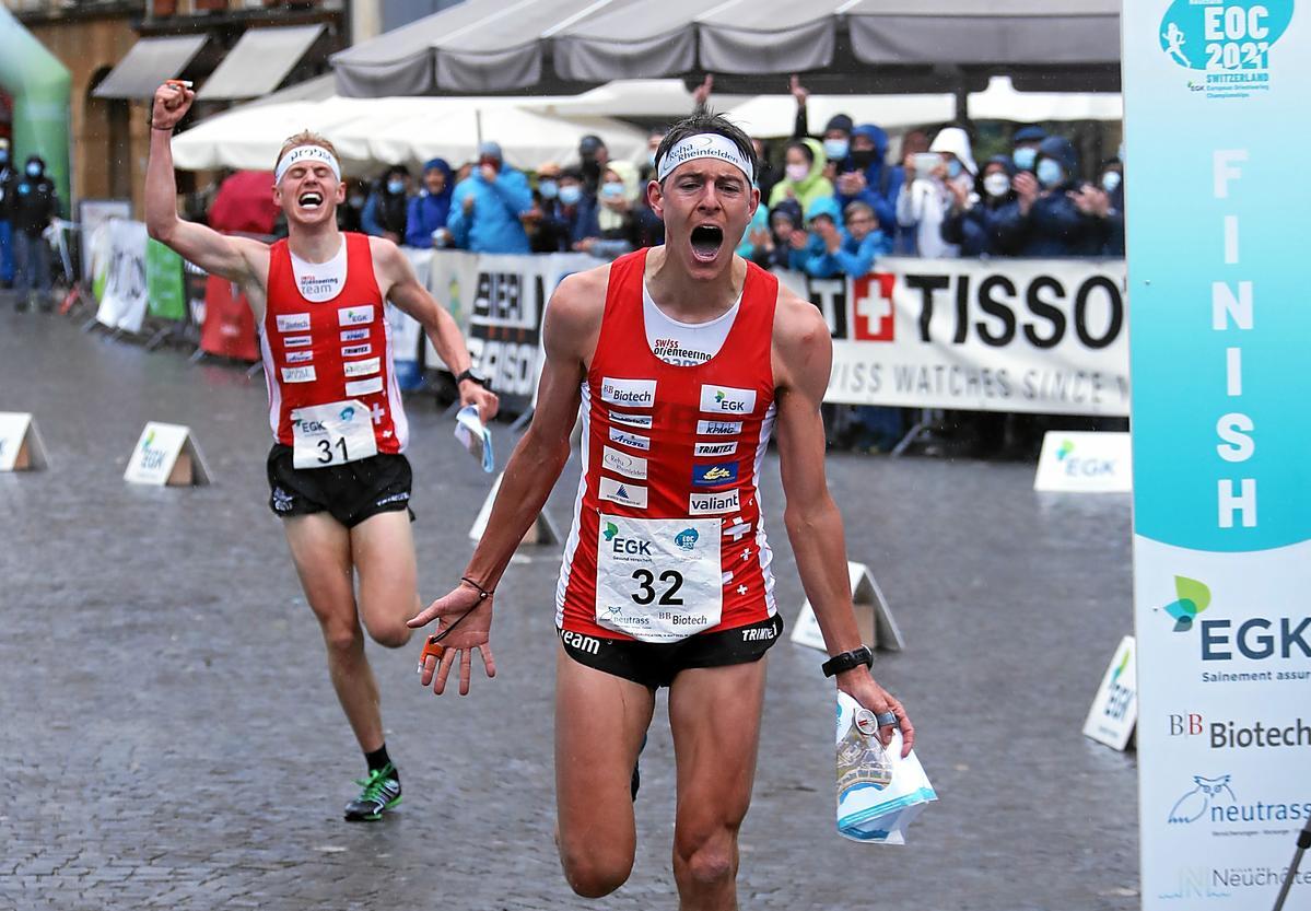 KO-Sprint: Gold für Alexandersson und Kyburz